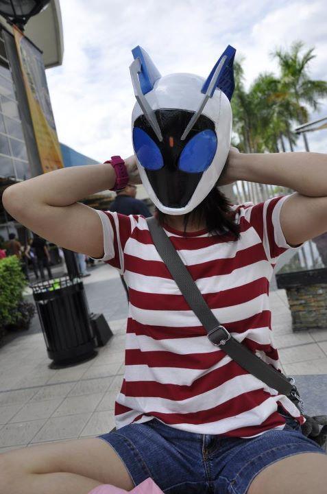Super ShinkenRed - Shiba Kaoru (CosplayManiaXI) Costume by: Francis Veloso and his mom. c: