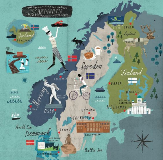 Scandinavia 2015 AD: Sweden, Norway, Finland, Iceland and Denmark - by Martin Haake