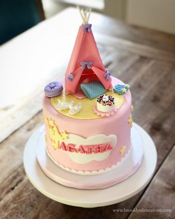 Sensational Slumber Party Cakes With Images Party Cakes Birthday Cake Funny Birthday Cards Online Inifodamsfinfo