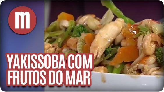 Mulheres -  Yakissoba de frutos do mar  (18/02/16)