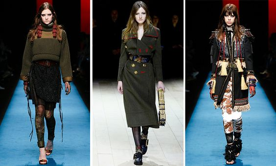 militaire stijl kleding winter