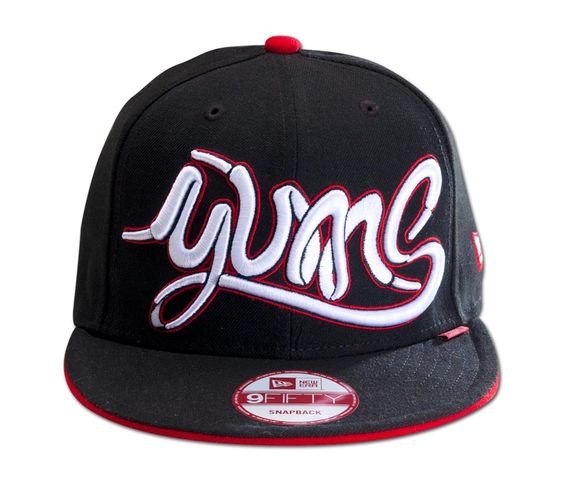 Yums New Era 9Fifty Snapback Laced Up Blk/Red