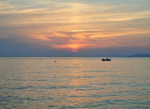 holidays, sonnenuntergang, and griechenland image