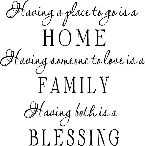 Can't wait to see my BLESSINGS at HOME this weekend! It makes hard times a little easier!