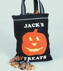 No-Sew Trick-Or-Treat Bag: Halloween: Shop   Joann.com