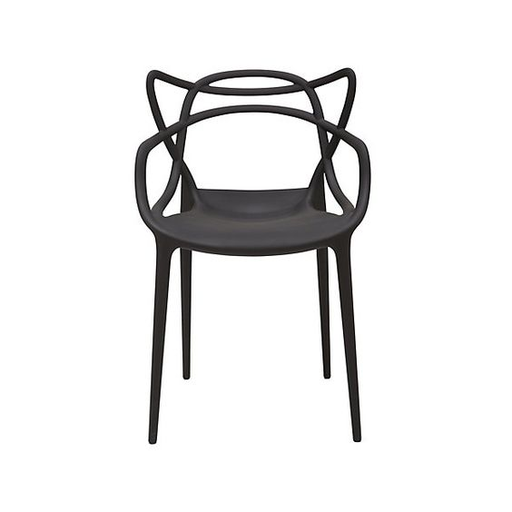 Philippe Starck Philippe Starck Style Masters Chair Black   Philippe Starck  from MDM FURNITURE UK. Philippe Starck Philippe Starck Style Masters Chair Black