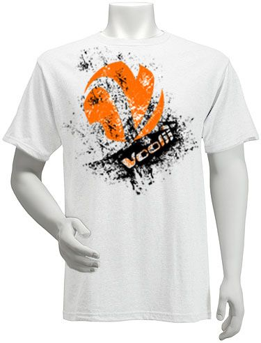 Rock the Voolii Splatter tee and show you are a Volley Style Icon!    Men's Fine Jersey Fitted Tee  4.3 oz 100% Combed Ringspun Cotton, Super-soft, lightweight, slim-fit tee. Machine washable and preshrunk to minimize shrinkage. Printed care label.  Item code: MTSS0008  Price: $18.00  http://www.voolii.com/VooliiShop/tabid/184/CategoryID/1/List/0/Level/a/ProductID/53/Default.aspx