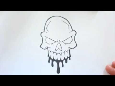 تعليم الرسم كيفية رسم جمجمة مخيفة رسومات بالرصاص تعليم الرسم للمبتدئين Youtube Home Decor Decals Home Decor Decor