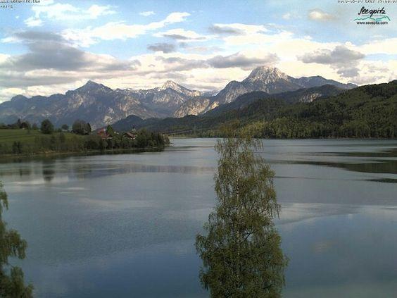 Füssen, lago Weissensee