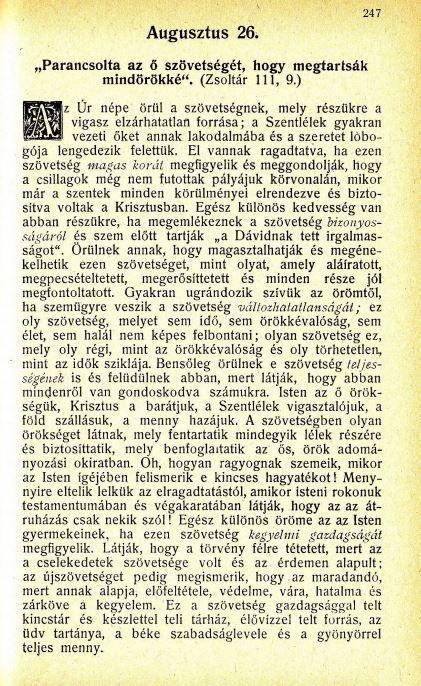 08.26.Spurgeon: Harmatgyöngyök...