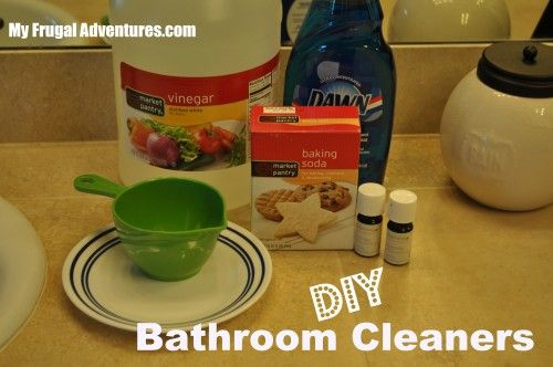 Bathroom cleaners bathroom and homemade bathroom cleaner - Homemade bathroom cleaner with dawn ...