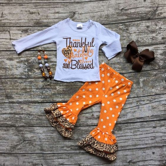 Thankful, Grateful & Blessed Outfit