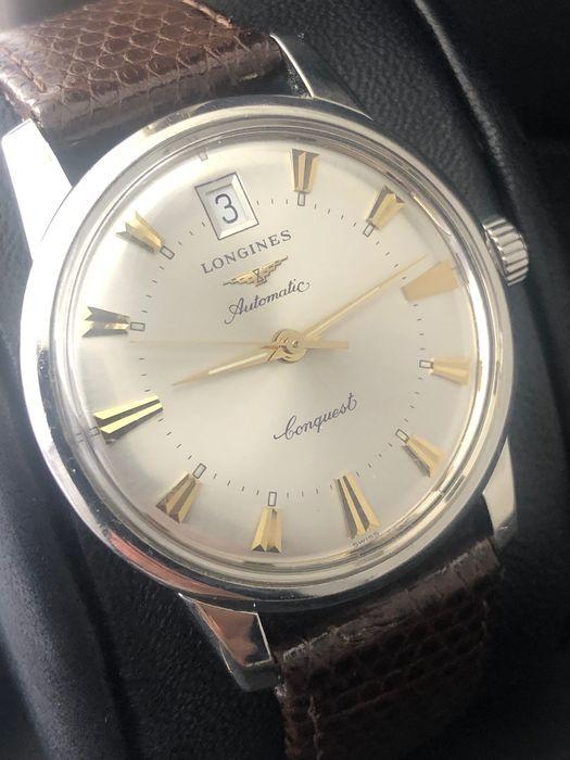 longines conquest bracelet cuir