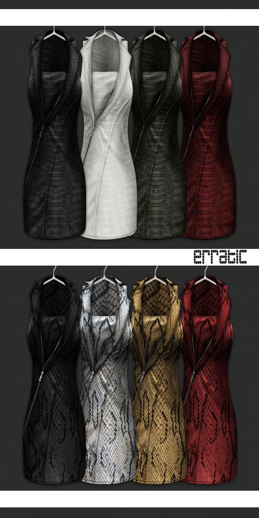 New Erratic Mesh Dresses at Truth District