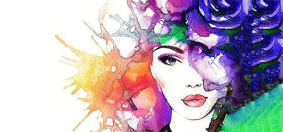 Watercolor Art On Instagram Via Portraits Magic
