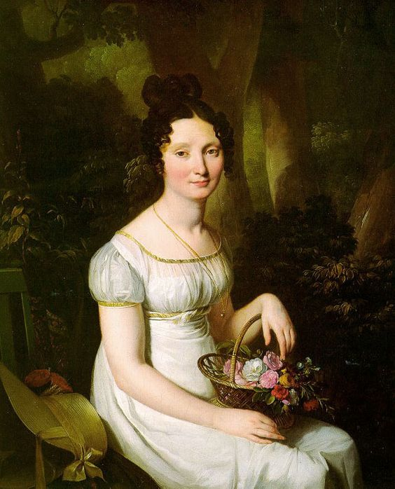 Madame Vincent c.1820 by Louis Leopold Boilly: