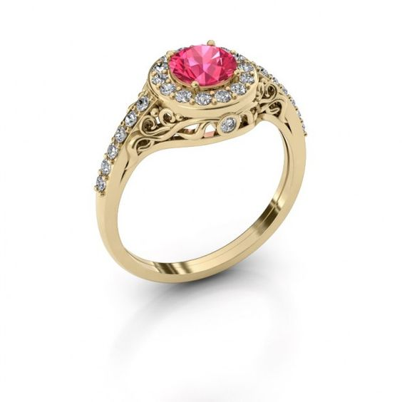 Yurani ring - Configureer je eigen ring online - DiamondsbyMe