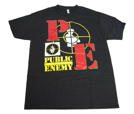 Public Enemy - 90's Vintage Double Target Tee #RapCentralStation #GraphicTee