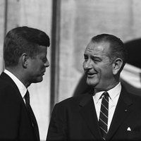 """The Democratic National Convention"" John F. Kennedy, Lyndon B. Johnson"