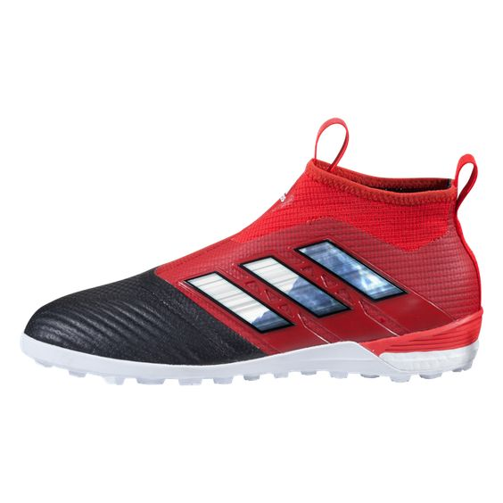 adidas Ace 17.3 Astroturf Trainers - Core Black/White/Blue - Kids | Adidas  | Pinterest | Astroturf, Trainers and Adidas