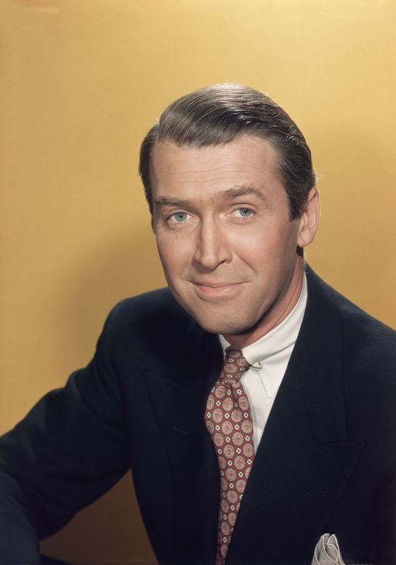 """Jimmy Stewart - etched his way into our hearts to present day with his performance in """"It's a Wonderful World"""""""