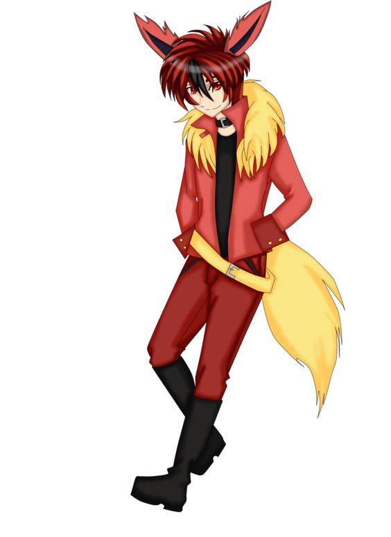 flareon human boy - Google Search | Pokemon | Pinterest | Pokémon ...