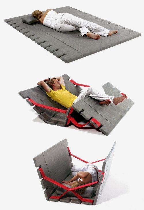 Der Sessel eignet sich perfekt für Gäste oder kleine Wohnungen