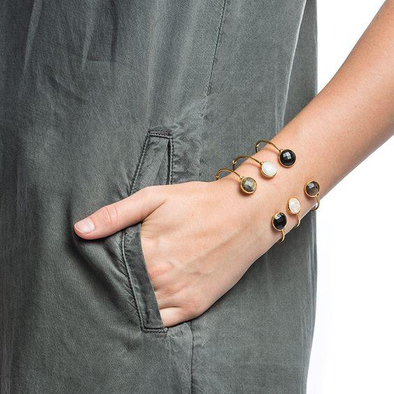 Gas Bijoux Duality Cuff Bracelet