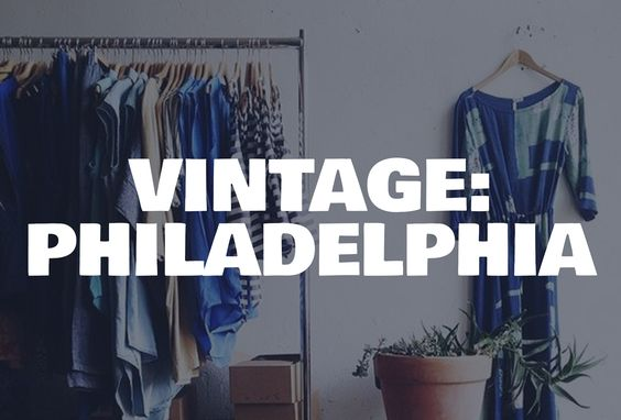 See where people in Philly do their secondhand/locally-made shopping.