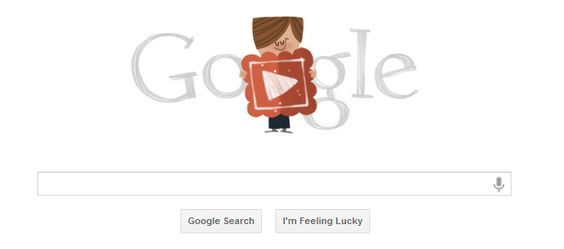 valentine's day google homepage video