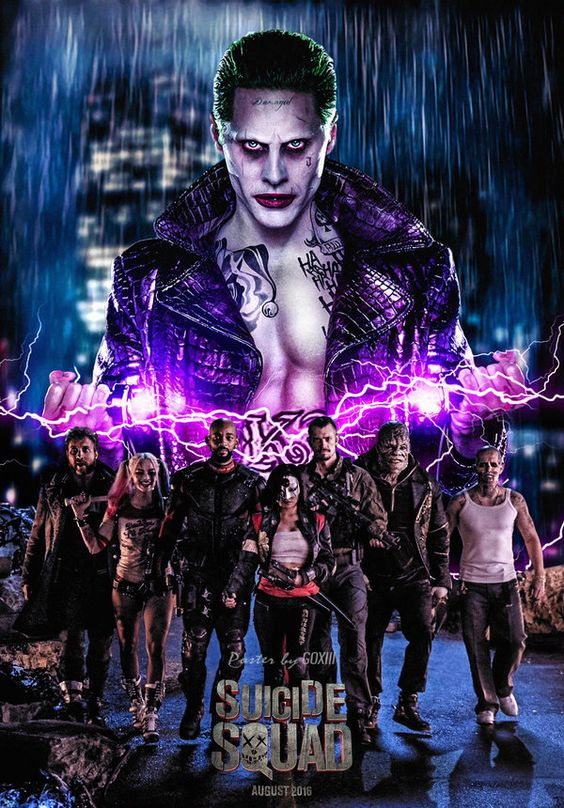 Suicide Squad Movie Poster • GOXIII