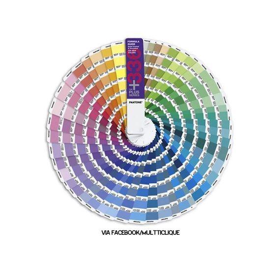 Trupe. A Pantone acaba de acrescentar 336 novas cores para a série Plus da sua escala.