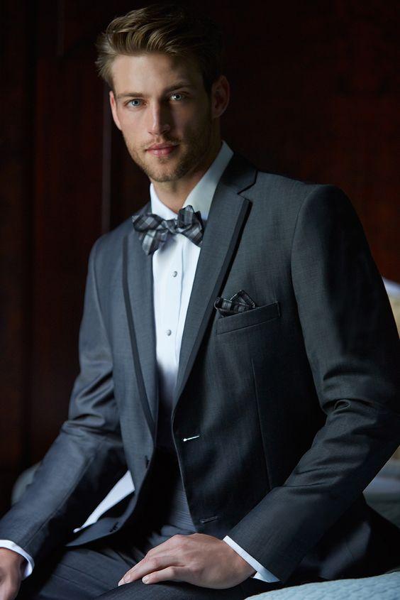 Madison James Collections: Graphite Tuxedo