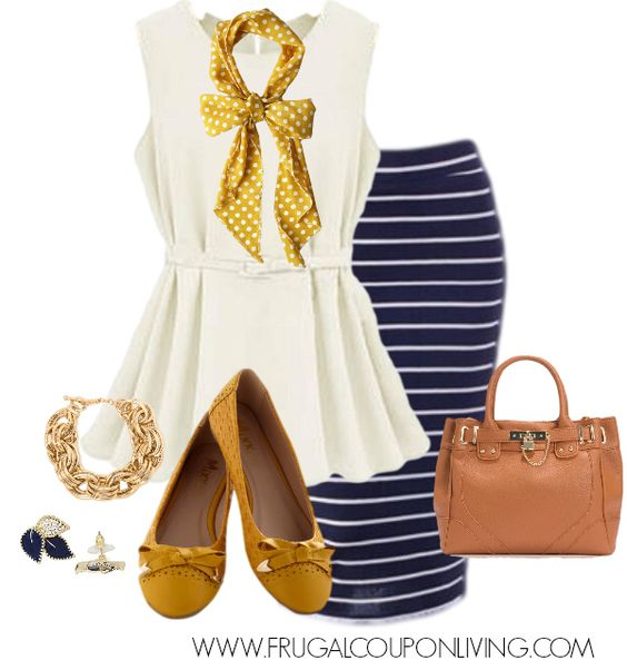 Imagen de http://cdn.frugalcouponliving.com/wp-content/uploads/2013/12/frugal-fashion-friday-gold-navy-outfit.jpg.