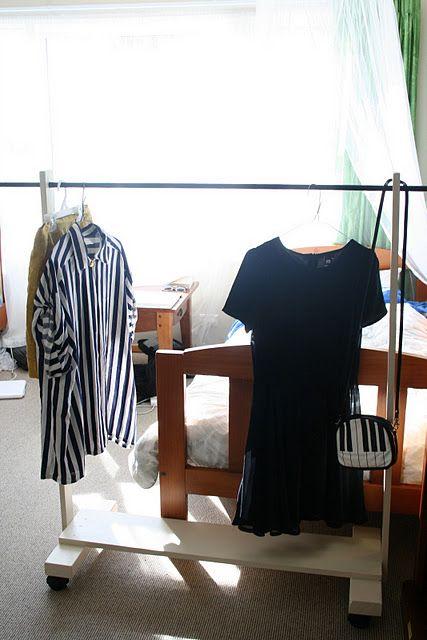 Kleiderständer selber machen Stauraum Ideen