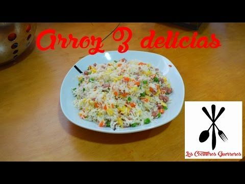 Arroz Tres Delicias Estilo Restaurante Chino Youtube Food Arroz Blog