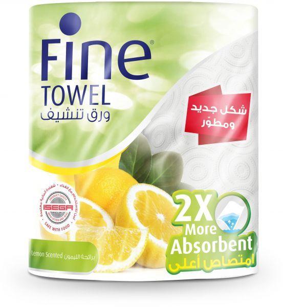فاين ورق تنشيف امتصاص مضاعف برائحة الليمون معقمة ومتعددة الاستعمالات 120 قطعة طبقتين 2 رول Snack Recipes Snacks Scent