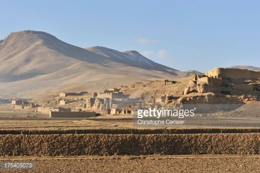 Stock Photo : 'Afghanistan village, Bamyan'