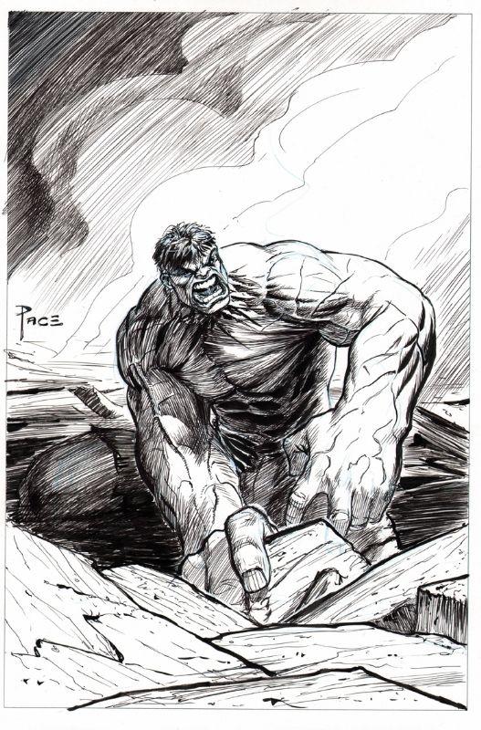 Hulk Comic Art