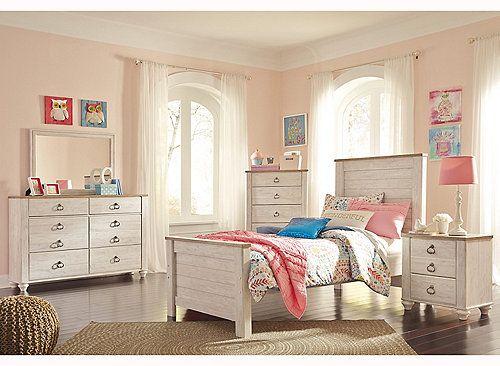 Collingwood 4 Pc Twin Bedroom Set Twin Bedroom Sets Ashley