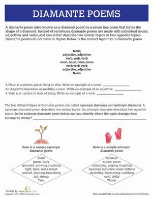 poem third grade and composition on pinterest. Black Bedroom Furniture Sets. Home Design Ideas