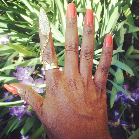 I'm calling this one THE FINGER. Which finger you wear it on is up to you!! Lol. Available online in silver and gold at www.fabfrosting.com. #putaringonit