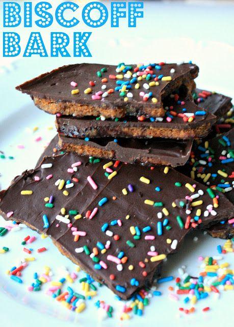 Biscoff Cookie Bark
