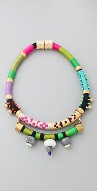 Color Block Necklace | StyleCaster