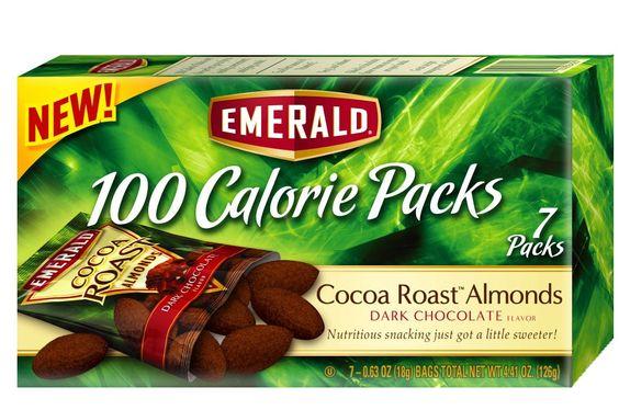 100 calorie pack dark chocolate nuts