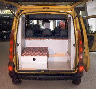 c tech campingvan minicamper renault kangoo camper camping tiny homes pinterest. Black Bedroom Furniture Sets. Home Design Ideas