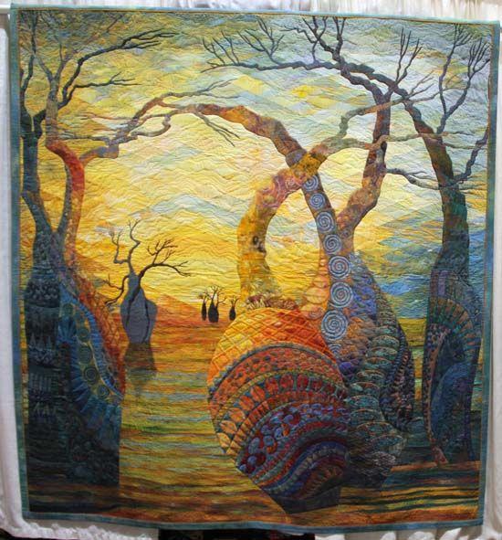Beautiful art quilt