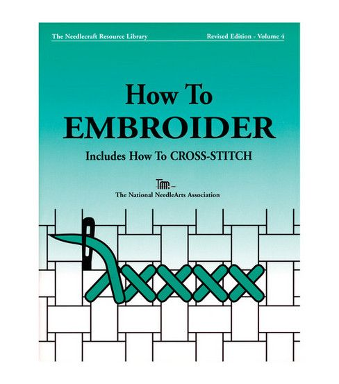 This booklet is intended to get you started in enjoying embroidery, learning basic techniques and just a few of the hundreds of stitches available.  There are many books and magazines from which you c