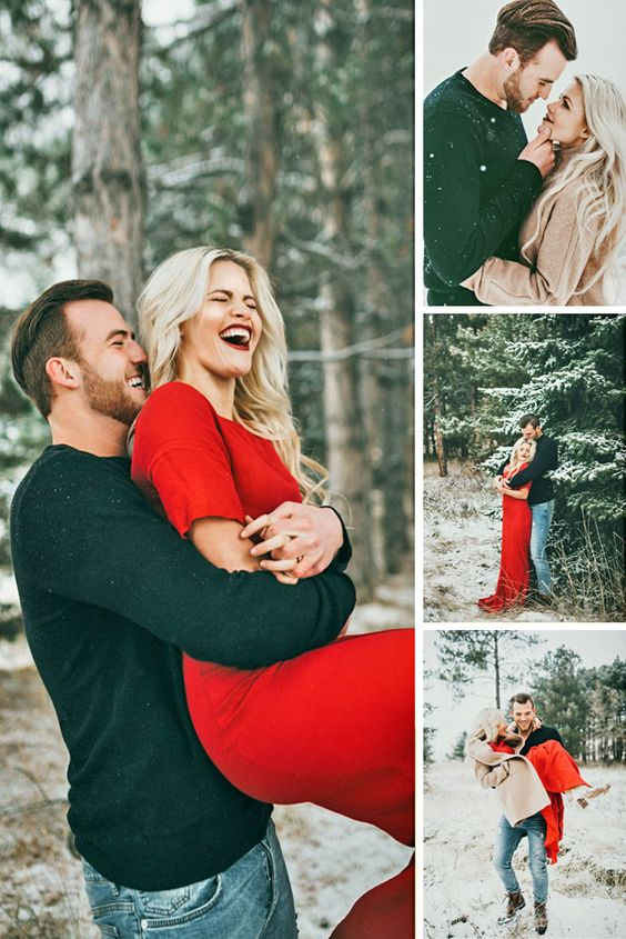 Forest Engagement Photos For Those Who Love Nature ❤ See more: http://www.weddingforward.com/forest-engagement-photos/ #wedding #engagement #photos: