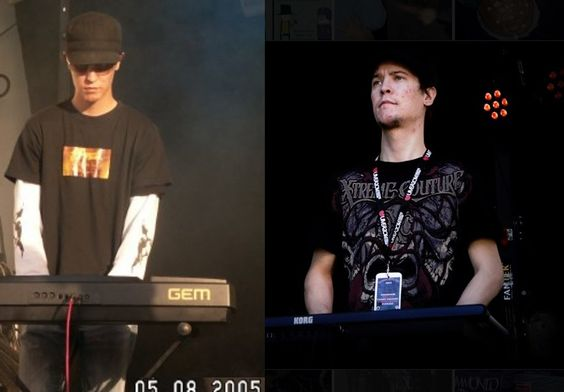 From a shy guy to a Hard Rocker. By the way, its not the same cap - Jimi Toivanen